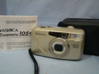 Yashica Zoomate 105SE Cased + Inst £9.99